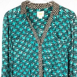 Maeve Anthropologie Button Down Blouse 12